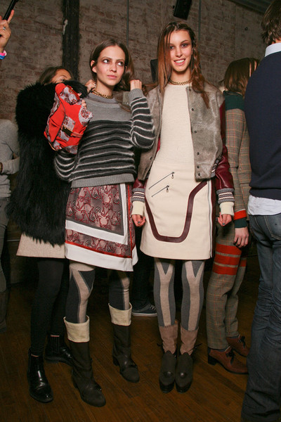 Rag & Bone at New York Fall 2011 (Backstage)