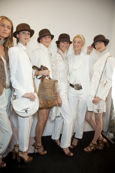 Ralph Lauren at New York Spring 2011 (Backstage)