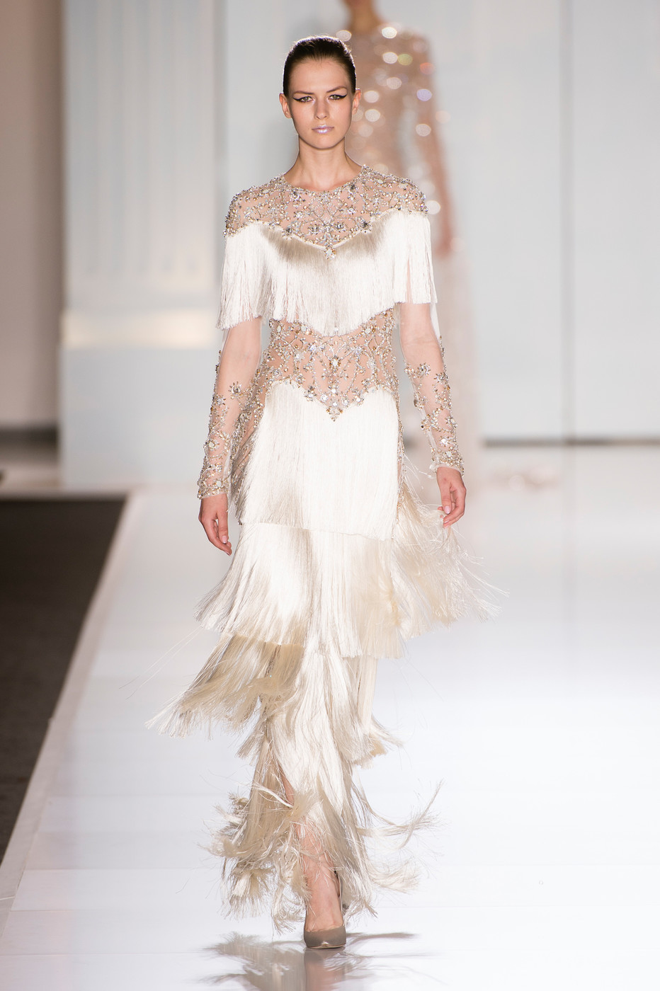 Ralph russo couture fall 2017 gorgeous couture runway for Ralph and russo wedding dress