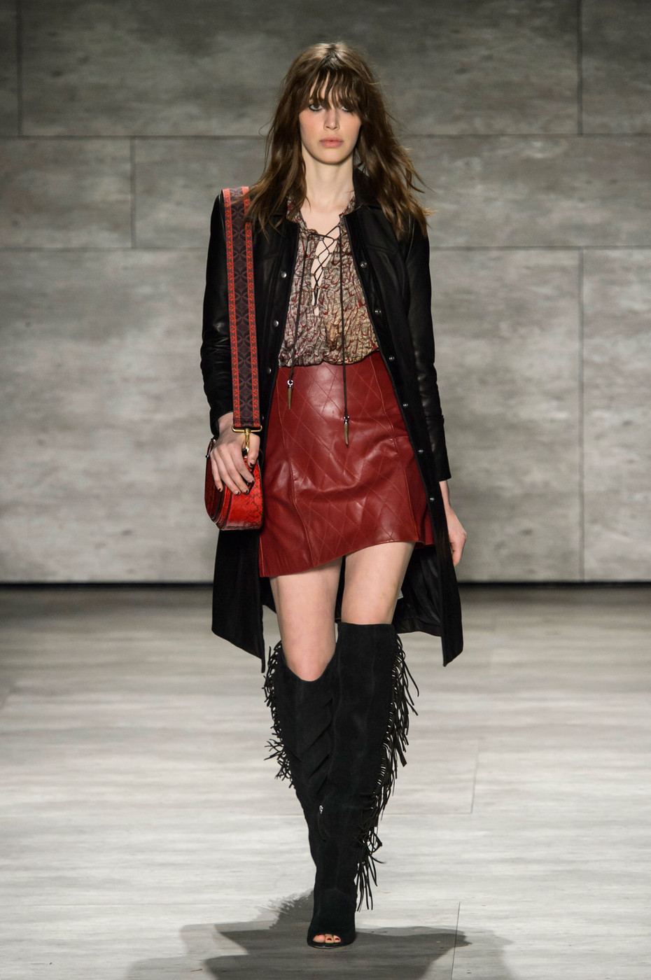 Rebecca minkoff fall 2015 runway pictures livingly Street style ny fashion week fall 2015