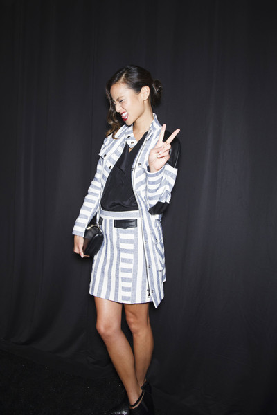 Rebecca Minkoff at New York Spring 2014 (Backstage)