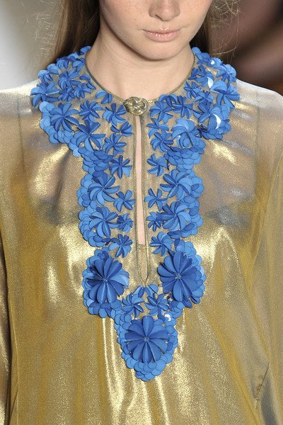 Reem Acra at New York Spring 2009 (Details)