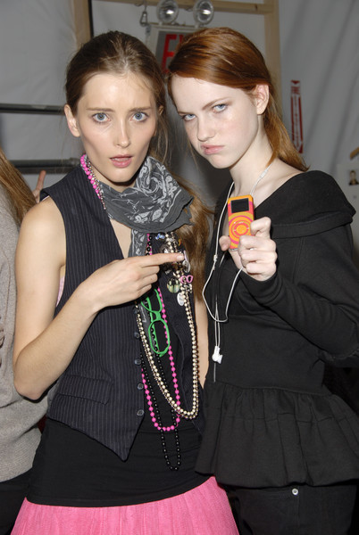 Richard Chai Love at New York Spring 2007 (Backstage)