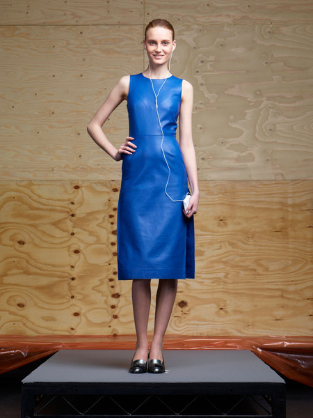 Richard Nicoll at London Fall 2012 [clothing,dress,cobalt blue,fashion model,blue,cocktail dress,standing,electric blue,fashion,formal wear,dress,cocktail dress,richard nicoll,fashion,clothing,model,vogue,color,london fashion week,fashion show,fashion show,fashion,london fashion week,cocktail dress,clothing,skirt,dress,model,vogue,color]