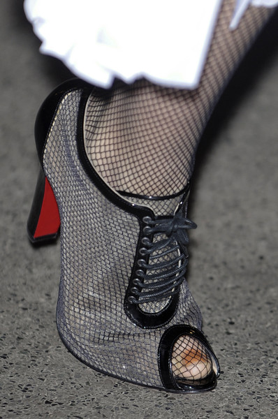 Richard Nicoll at London Spring 2011 (Details)