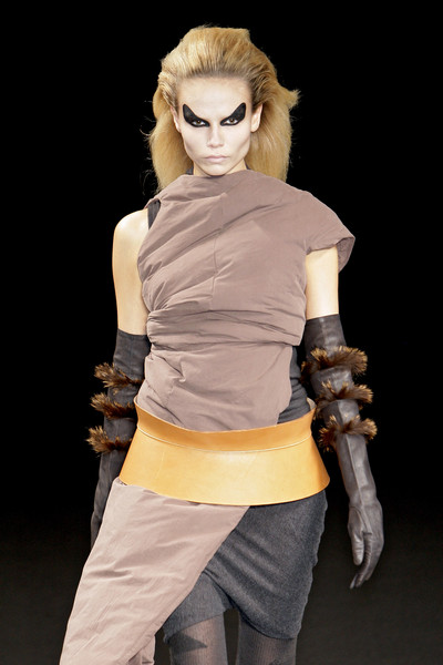 Rick Owens at Paris Fall 2010