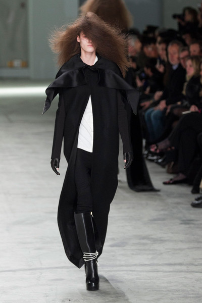 Rick Owens at Paris Fall 2013