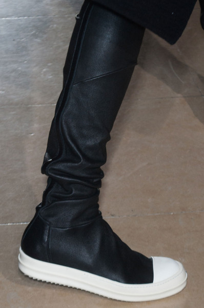 Rick Owens at Paris Fall 2014 (Details)