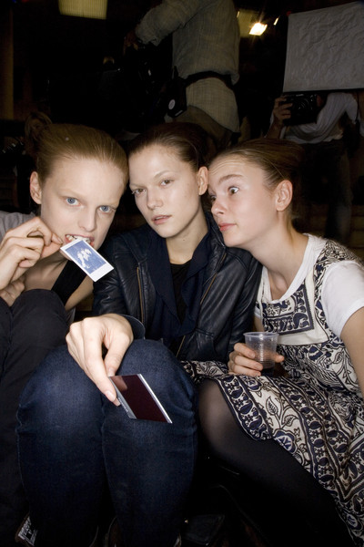 Rick Owens at Paris Spring 2008 (Backstage)