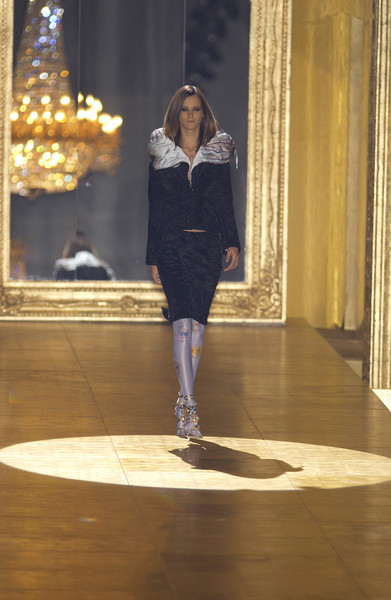 Roberto Cavalli at Milan Fall 2002