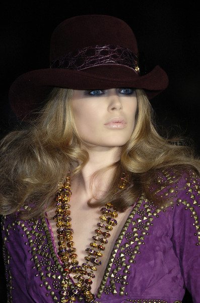 Roberto Cavalli at Milan Fall 2005 (Details)