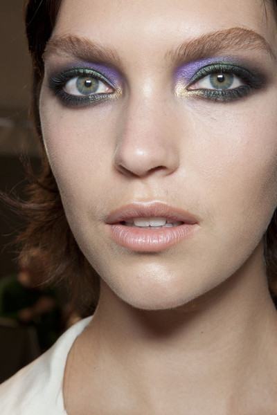 Roberto Cavalli at Milan Fall 2012 (Backstage)