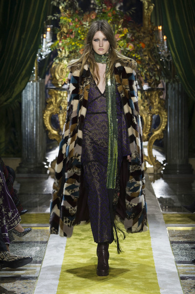 Roberto Cavalli at Milan Fall 2016