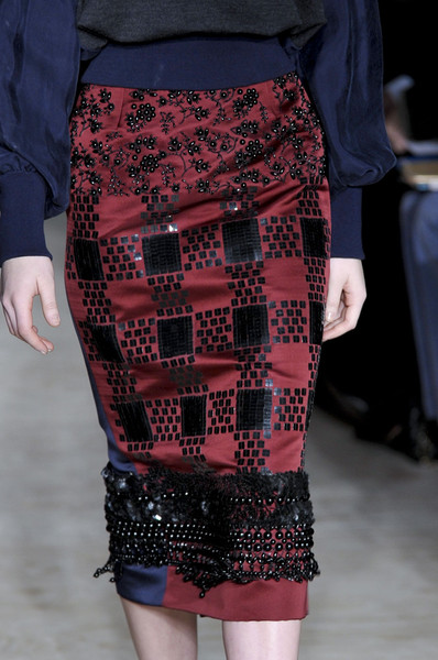 Roksanda Ilincic at London Fall 2012 (Details)