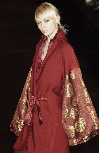 Romeo Gigli at Paris Fall 2003