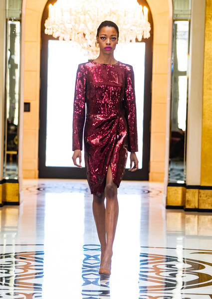 Rvng at New York Fall 2021 [one-piece garment,fashion,dress,sleeve,waist,runway,fashion design,magenta,thigh,beauty,dress,keyboard,fashion,runway,fashion model,clothing,haute couture,rvng,new york fashion week,fashion show,fashion show,runway,haute couture,fashion,dress,fashion model,clothing,model m keyboard]
