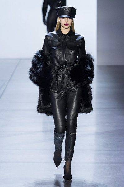 Sally LaPointe at New York Fall 2019 [fashion model,fashion,fashion show,runway,clothing,joint,shoulder,leather,outerwear,fur,sally lapointe,runway,fashion,clothing,fashion week,model,haute couture,joint,new york fashion week,fashion show,runway,new york fashion week,fashion,haute couture,fashion show,clothing,model,fashion week]