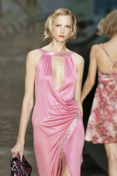 Seduzioni Diamonds Valeria Marini at Milan Spring 2010