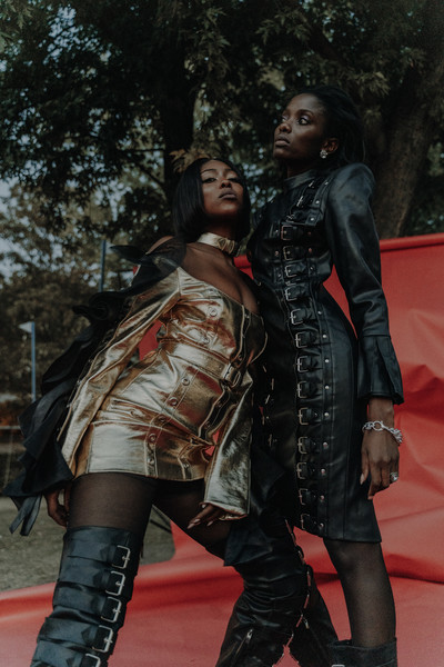 Seyit Ares at Paris Spring 2021 [clothing,leather,fashion,leather jacket,latex,latex clothing,outerwear,costume,riding boot,jacket,leather,fashion,clothing,latex,costume,riding boot,seyit ares,jacket,paris fashion week,leather jacket]