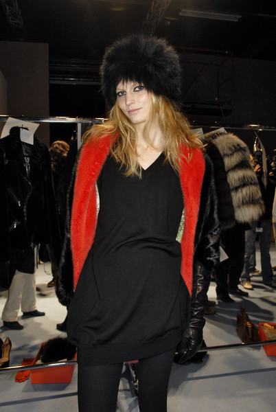 Simonetta Ravizza at Milan Fall 2007 (Backstage)