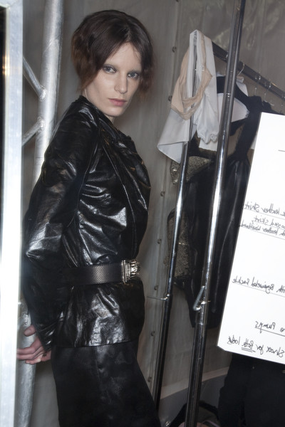 Sophia Kokosalaki at Paris Fall 2009 (Backstage)