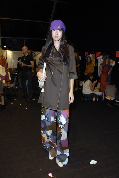 Sportmax at Milan Spring 2007 (Backstage)