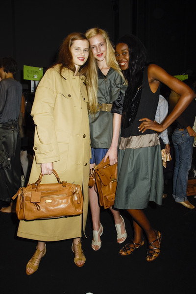 Sportmax at Milan Spring 2008 (Backstage)