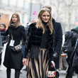 Olivia Palermo's Striped Pleats
