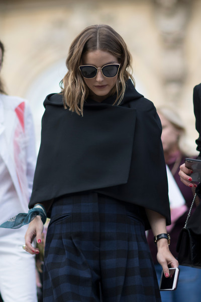 Olivia Palermo's Fitted Cape