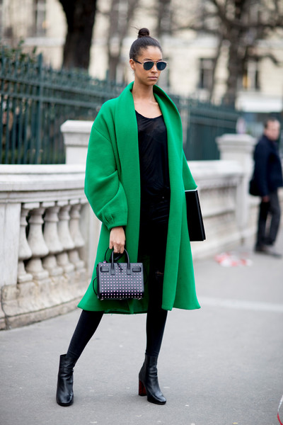 Statement Green Coat