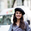 Beret and Gingham