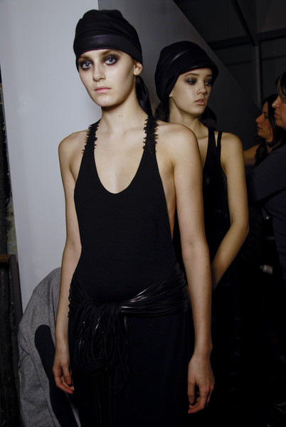 Stærk at New York Fall 2008 (Backstage)