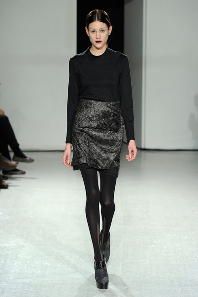 Steffie Christiaens at Paris Fall 2012