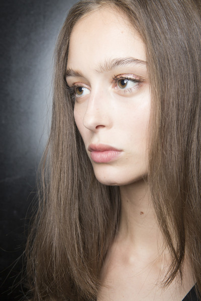 Stéphane Rolland at Couture Fall 2017 (Backstage) [face,hair,eyebrow,hairstyle,chin,lip,beauty,cheek,blond,skin,blond,stephane rolland,couture fall,hair coloring,brown hair,color,hairstyle,seam,lip,fashion show,hair coloring,brown hair,portrait -m-,blond,autumn,fashion show,winter,seam,color,flat]