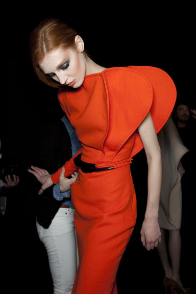 Stéphane Rolland at Couture Spring 2011 (Backstage)