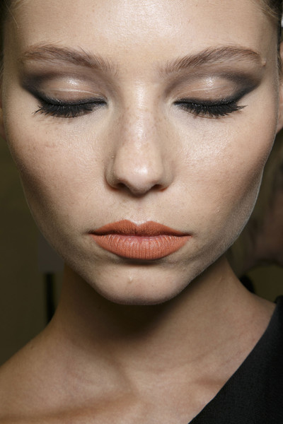 Stéphane Rolland at Couture Spring 2014 (Backstage) [couture spring 2014,face,eyebrow,hair,lip,cheek,skin,chin,beauty,nose,eyelash,supermodel,stephane rolland,beauty,haute couture,makeup,lips,eye liner,forehead,avon products,avon products,beauty,eye liner,facial makeup,lips,haute couture,supermodel,forehead]