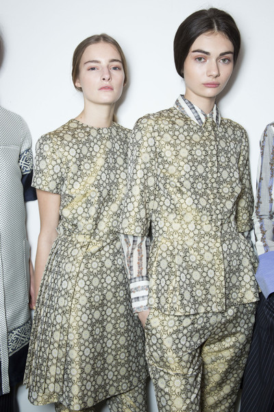 Suno at New York Fall 2013 (Backstage)