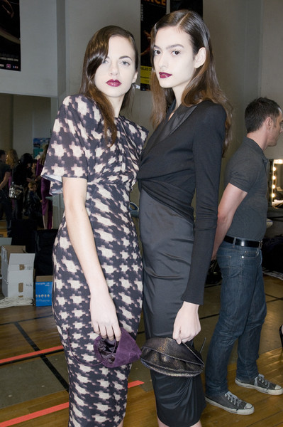 Talbot Runhof at Paris Fall 2009 (Backstage)