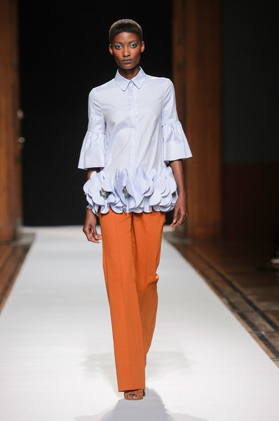 Talbot Runhof at Paris Spring 2018 [fashion model,fashion show,fashion,runway,clothing,fashion design,orange,human,event,model,supermodel,runway,fashion,model,fashion week,spring,clothing,talbot runhof,paris fashion week,fashion show,runway,fashion show,paris fashion week,fashion,fashion week,supermodel,spring,talbot runhof,model,summer]