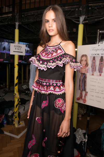 Temperley London at London Spring 2017 (Backstage)