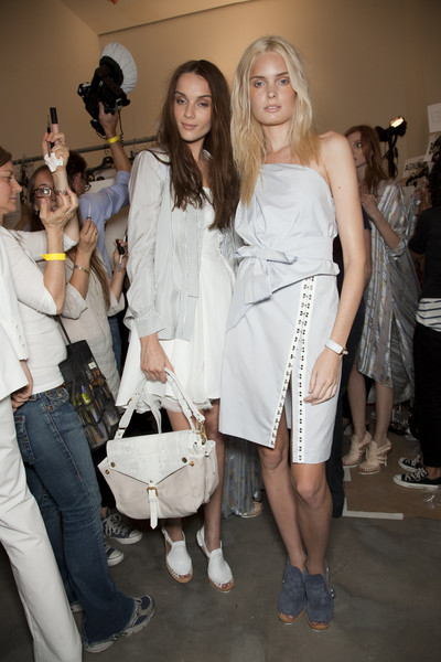 Thakoon at New York Spring 2011 (Backstage)