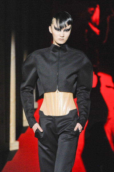 Thierry Mugler at Paris Fall 2011