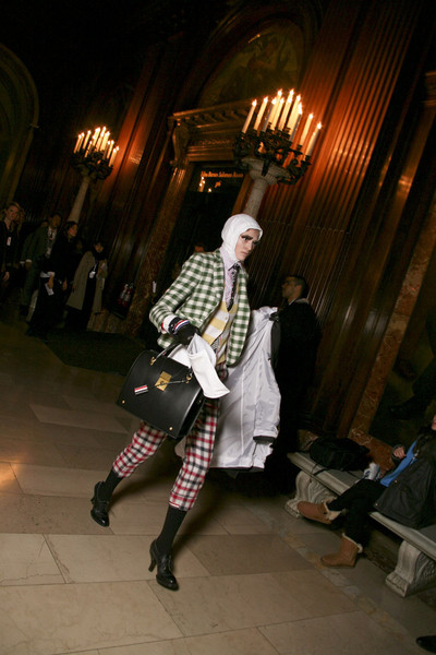 Thom Browne at New York Fall 2011 (Backstage)