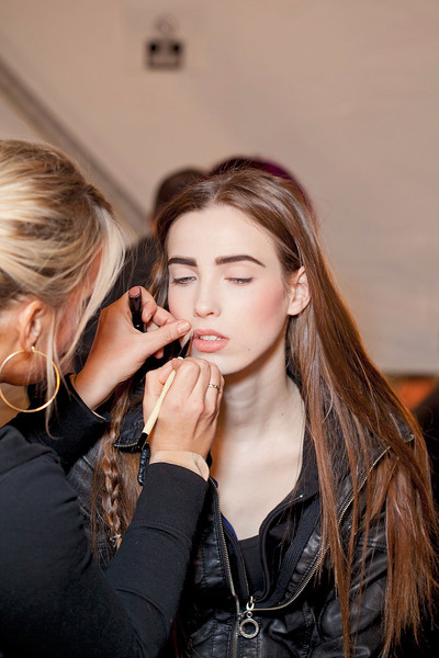 Tibi at New York Fall 2012 (Backstage)