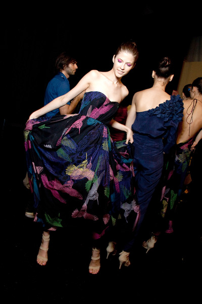 Tibi at New York Spring 2010 (Backstage)