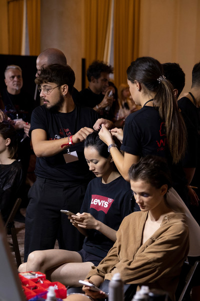 Tiziano Guardini at Milan Spring 2020 (Backstage)