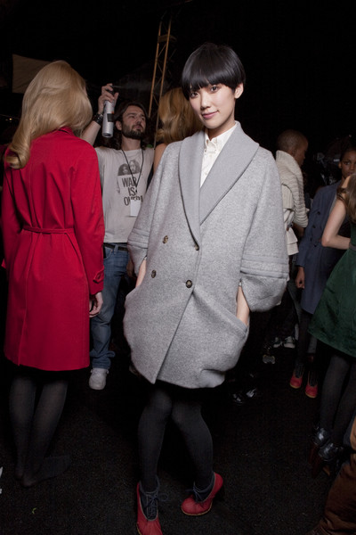 Tommy Hilfiger at New York Fall 2010 (Backstage)