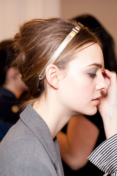 Tory Burch at New York Fall 2012 (Backstage)