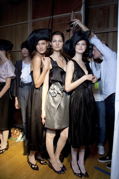 United Bamboo at New York Spring 2010 (Backstage)