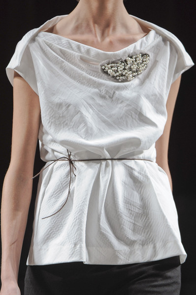 Van Steenbergen at Paris Spring 2011 (Details)